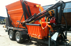 Jensen Woodchipper Custom chipper with storage