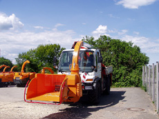 Jensen woodchipper Custom model unimog