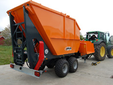 Jensen Woodchipper Custom model storage