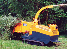 Tracked Jensen A141 XL chipper